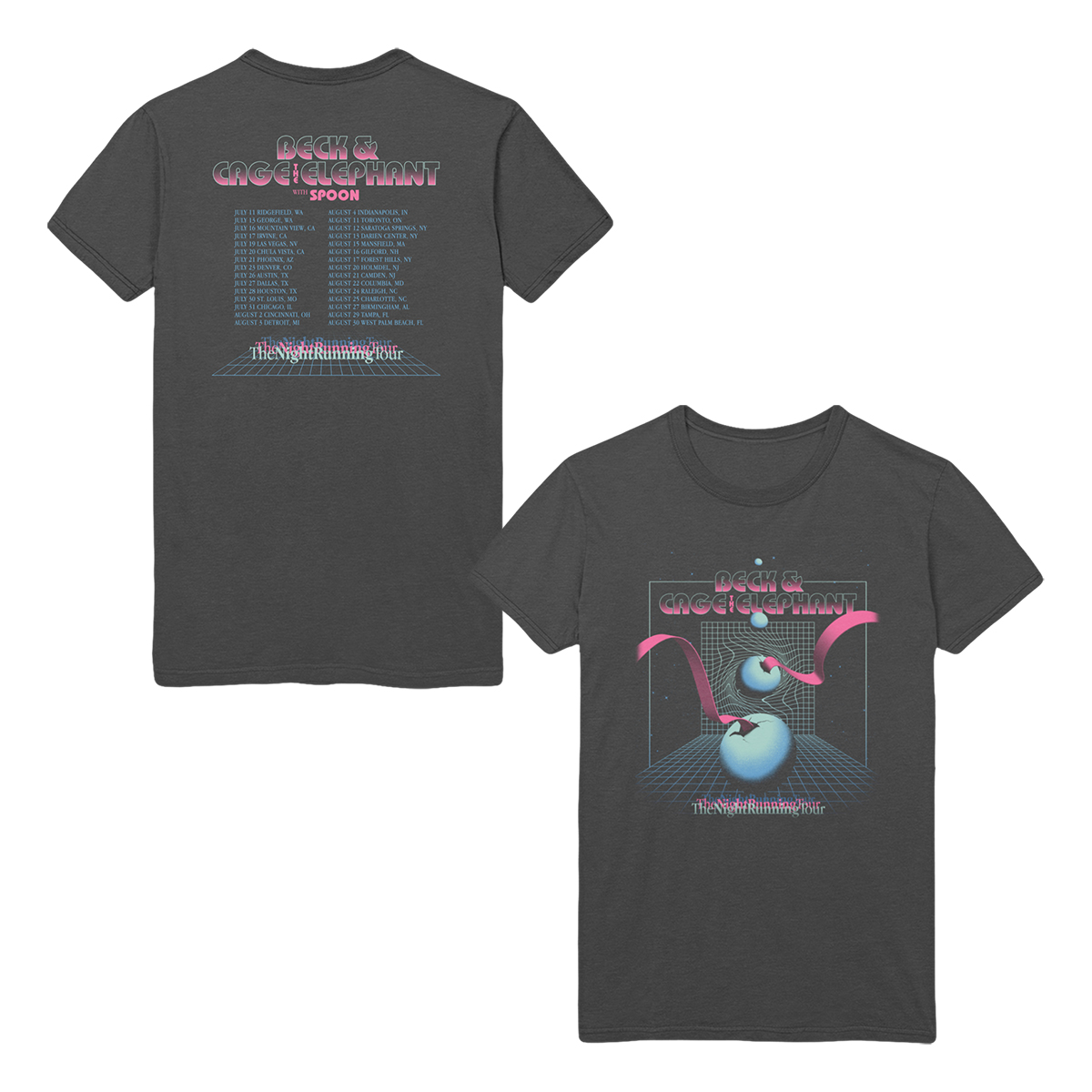The Night Running Tour T-Shirt