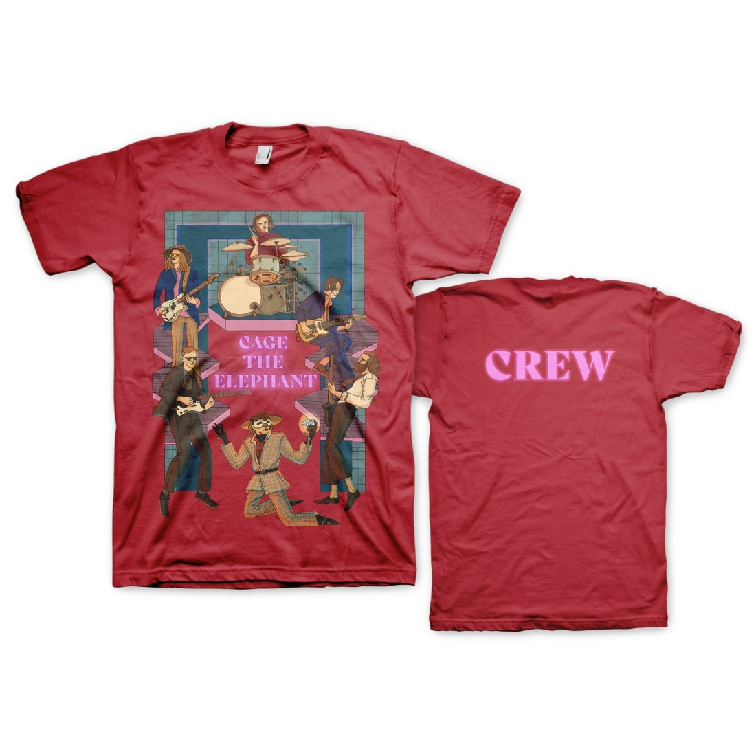 Red Crew Relief T-Shirt