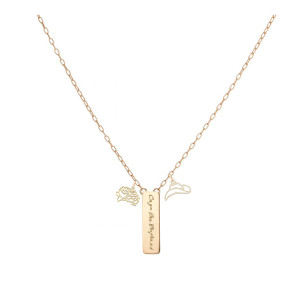 Social Cues Gold Necklace