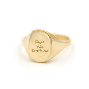 Cage the Elephant Gold Ring
