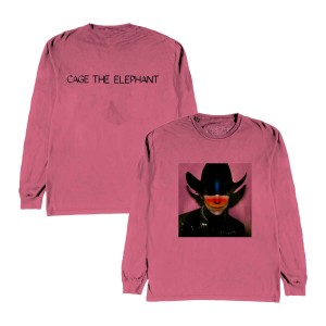 Night Running Pink Longsleeve T-Shirt + Digital Download