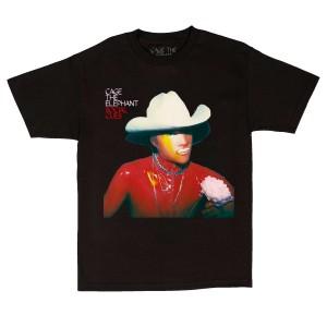 Social Cues Cowboy Black T-Shirt + Digital Download