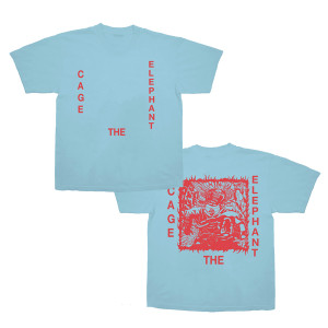 Red Box Logo Blue T-Shirt