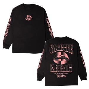Pink Lips Longsleeve T-Shirt