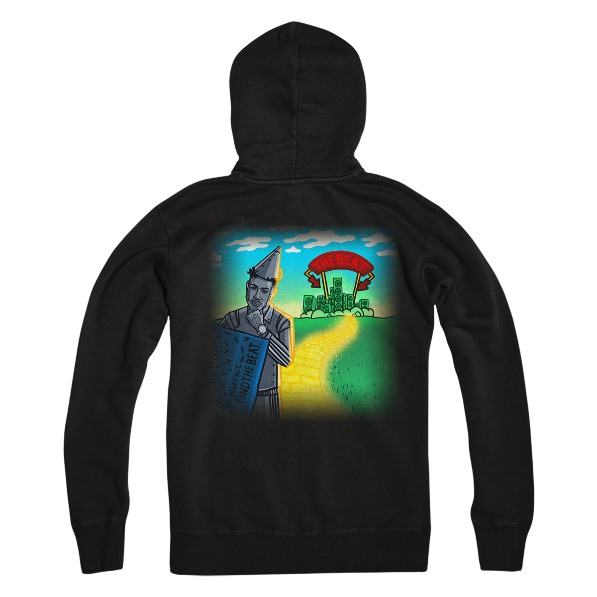 Find The Beat Album Cover Hoodie