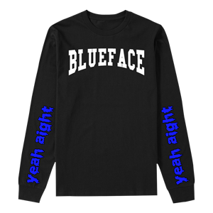Blueface Long Sleeve Tee