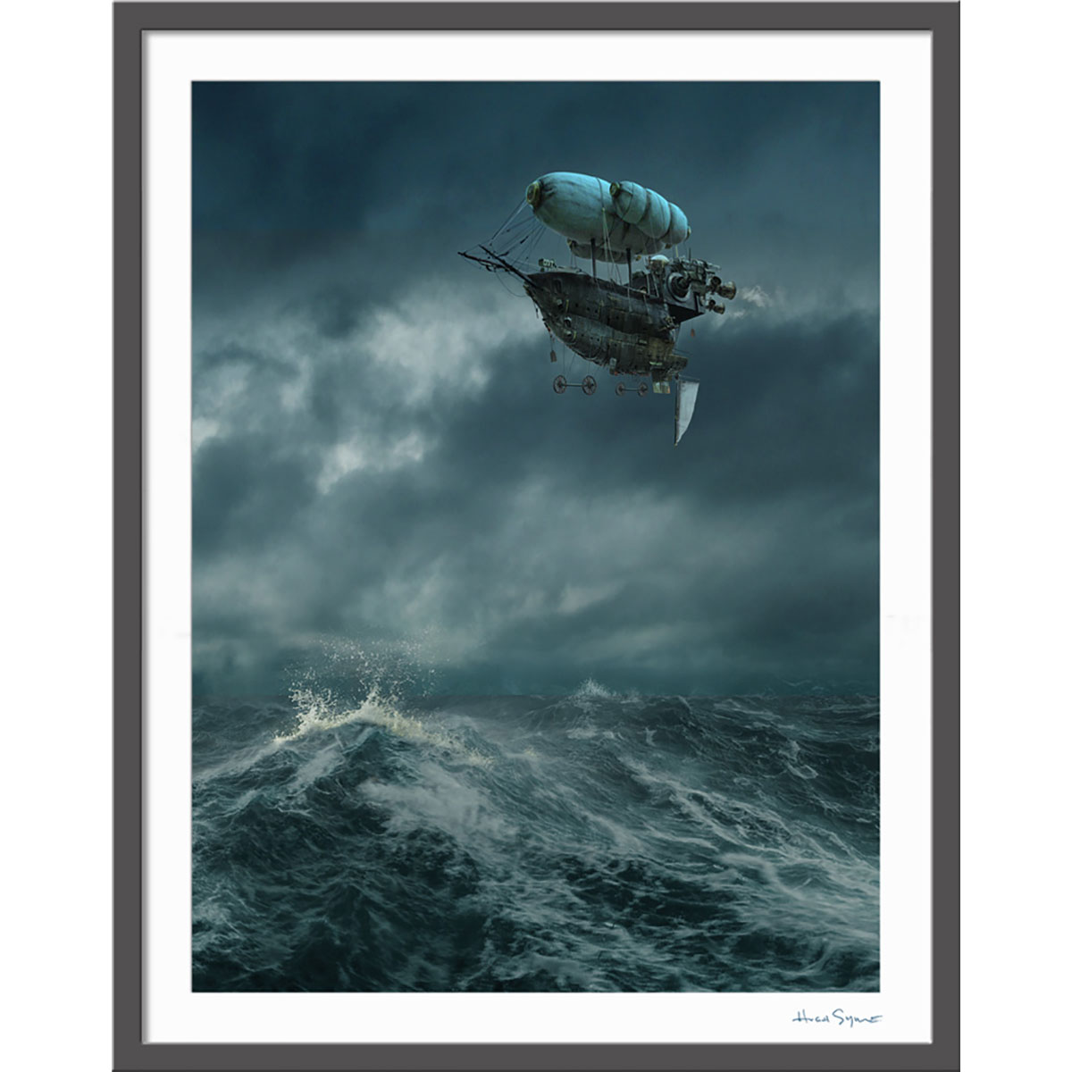 Clockwork Angels Airship