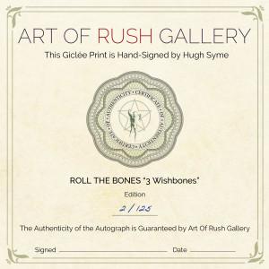 Roll the Bones 3 Wishbones