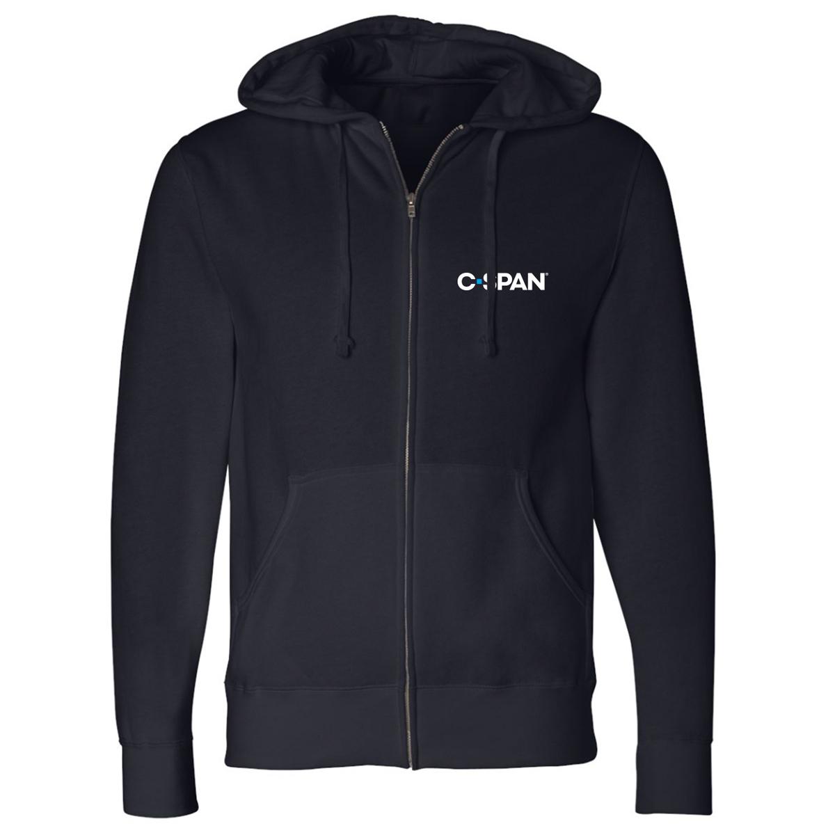 C-SPAN Logo Zip Up Hoodie
