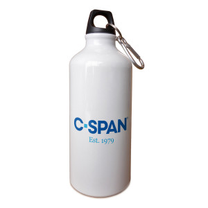 C-SPAN Logo Aluminum Water Bottle