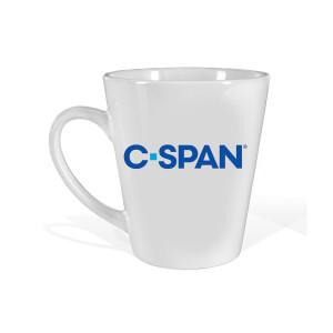 C-SPAN Logo Latte Mug