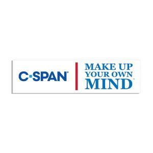 C-SPAN Make Up Your Own Mind Bumper Sticker