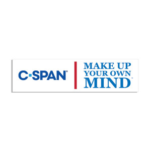 C-SPAN Make Up Your Own Mind Bumper Sticker