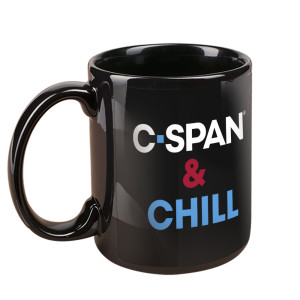 C-SPAN and Chill Mug (Black)