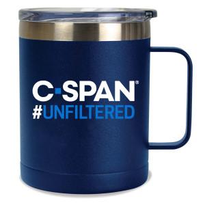 C-SPAN #Unfiltered 14oz Travel Mug