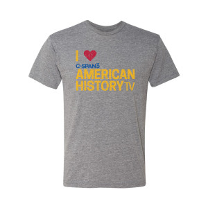 C-SPAN3 Heart American History TV T-Shirt (Premium Heather)