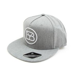 Brett Young Grey Logo Snapback