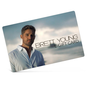 Brett Young eGift Card