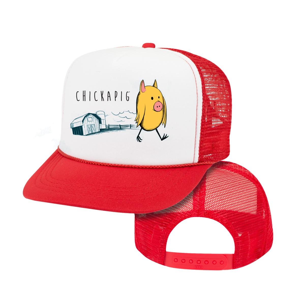 Little Joe Chickapig Youth Trucker Hat