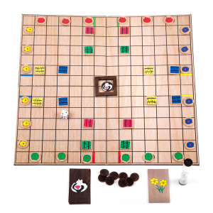 First Edition Burlap Chickapig Game