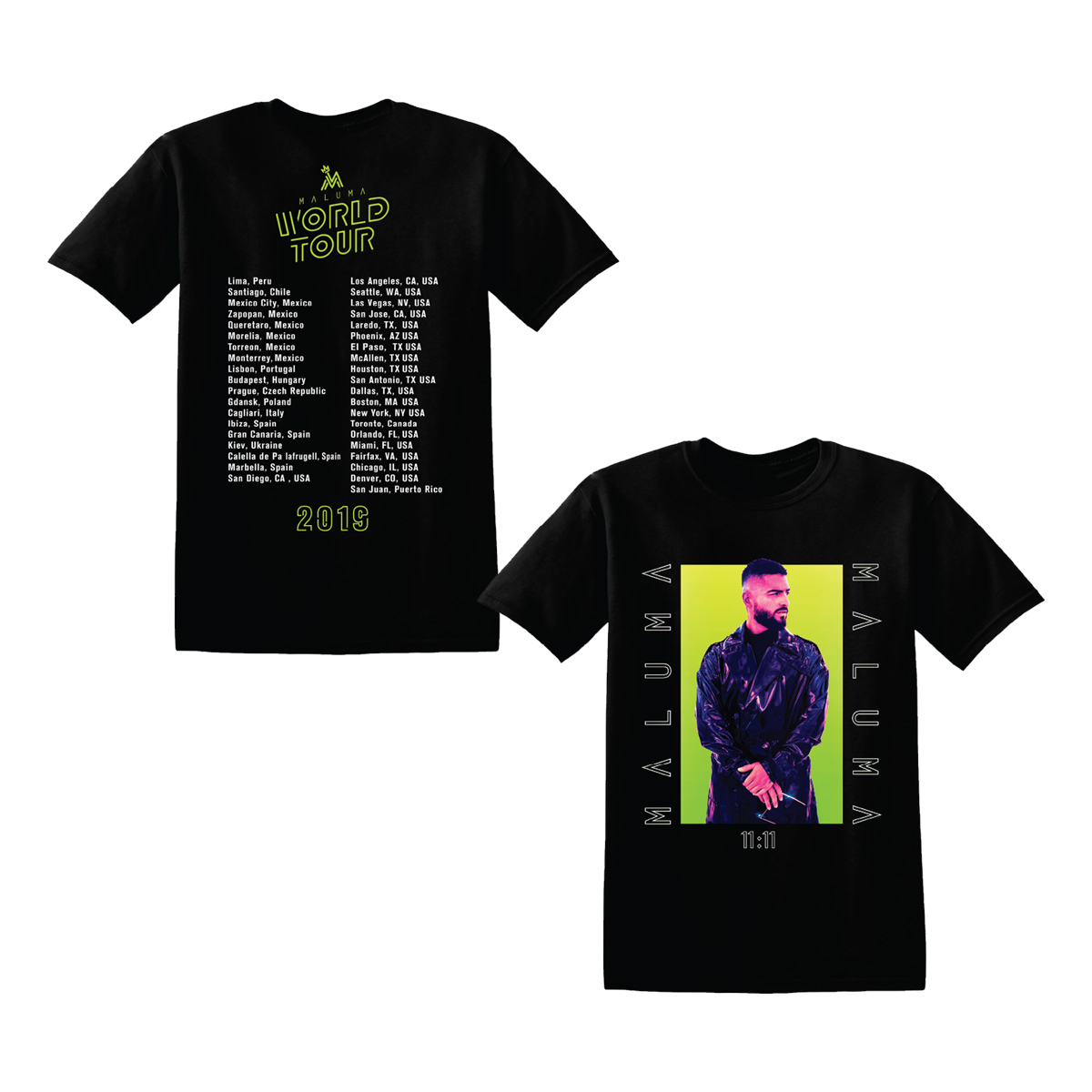 Maluma Tour T-Shirt