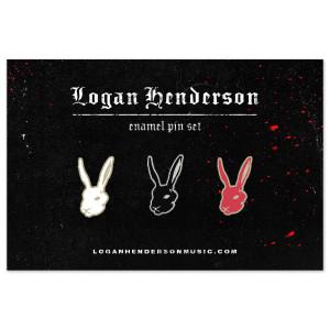 Rabbit Enamel Pin Pack