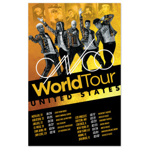 CNCO - Tour Poster