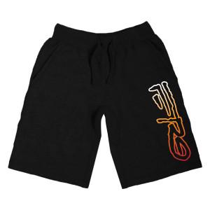 A$AP Ferg Fire Shorts