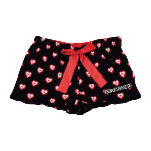 Foreigner - Ladies Heart Boxer Shorts