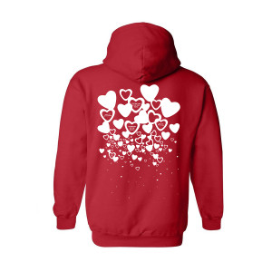 A Tribe Called Quest Raining Hearts Hoodie