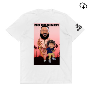 No Brainer T-Shirt + Father of Asahd Album Download