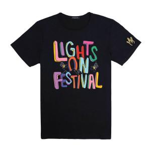 H.E.R. Lights On Festival Black T-Shirt