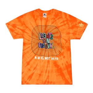H.E.R. Lights On Festival Tie-Dye T-Shirt