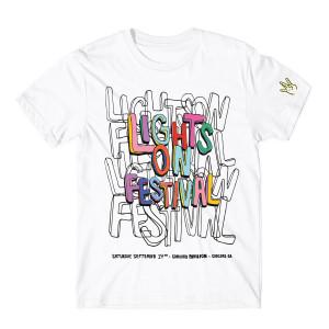H.E.R. Lights On Festival White T-Shirt