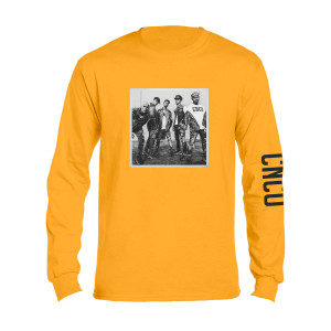 CNCO - Long Sleeve Yellow Photo T-shirt