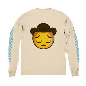 Sad Cowboy Emoji Long-Sleeve Tee + 7 EP Digital Download