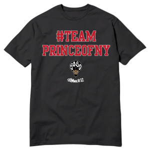 Team Prince of NY T-shirt