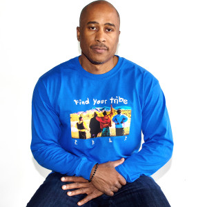 A Tribe Called Quest Find Your Tribe Royal Long Sleeve T-shirt