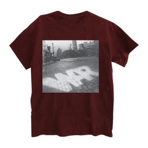 War Street Scene T-Shirt - Maroon