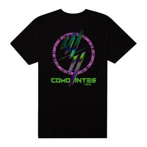W&Y COMO ANTES BLACK TOUR TEE