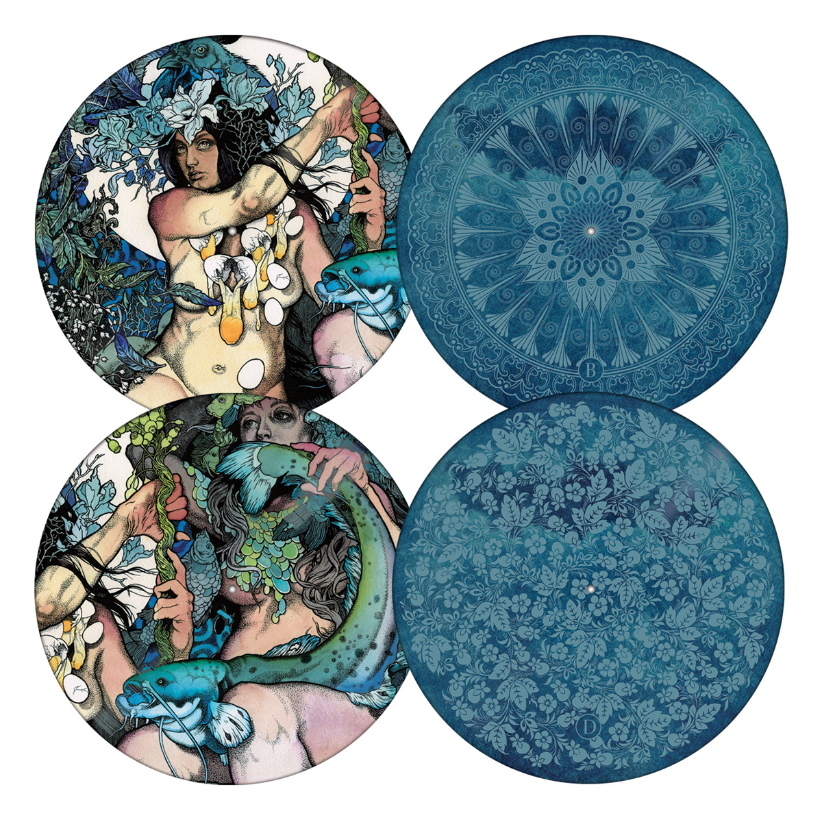 Blue Record Picture Disc