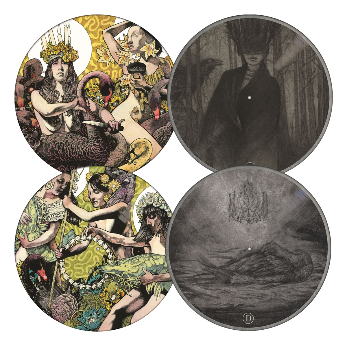 Yellow & Green Picture Disc