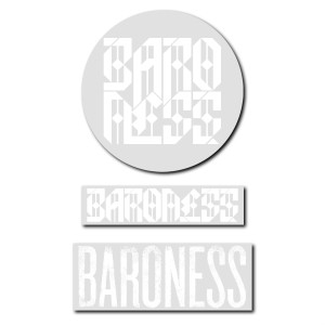Baroness Logo Sticker Pack