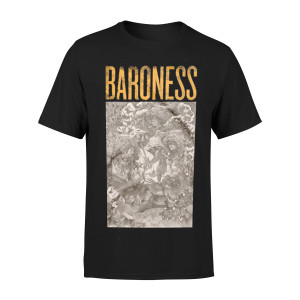 Gold & Grey Album Cover T-Shirt