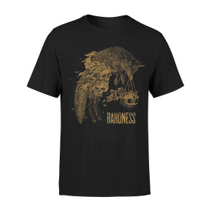 Lilies to Mourn Black T-Shirt