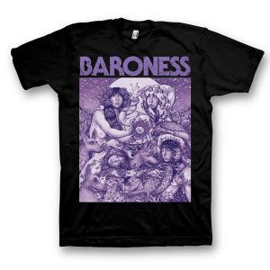 Baroness Purple Album Art Tour T-Shirt
