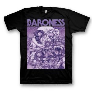 Baroness Purple Album Art Tour T-Shirt