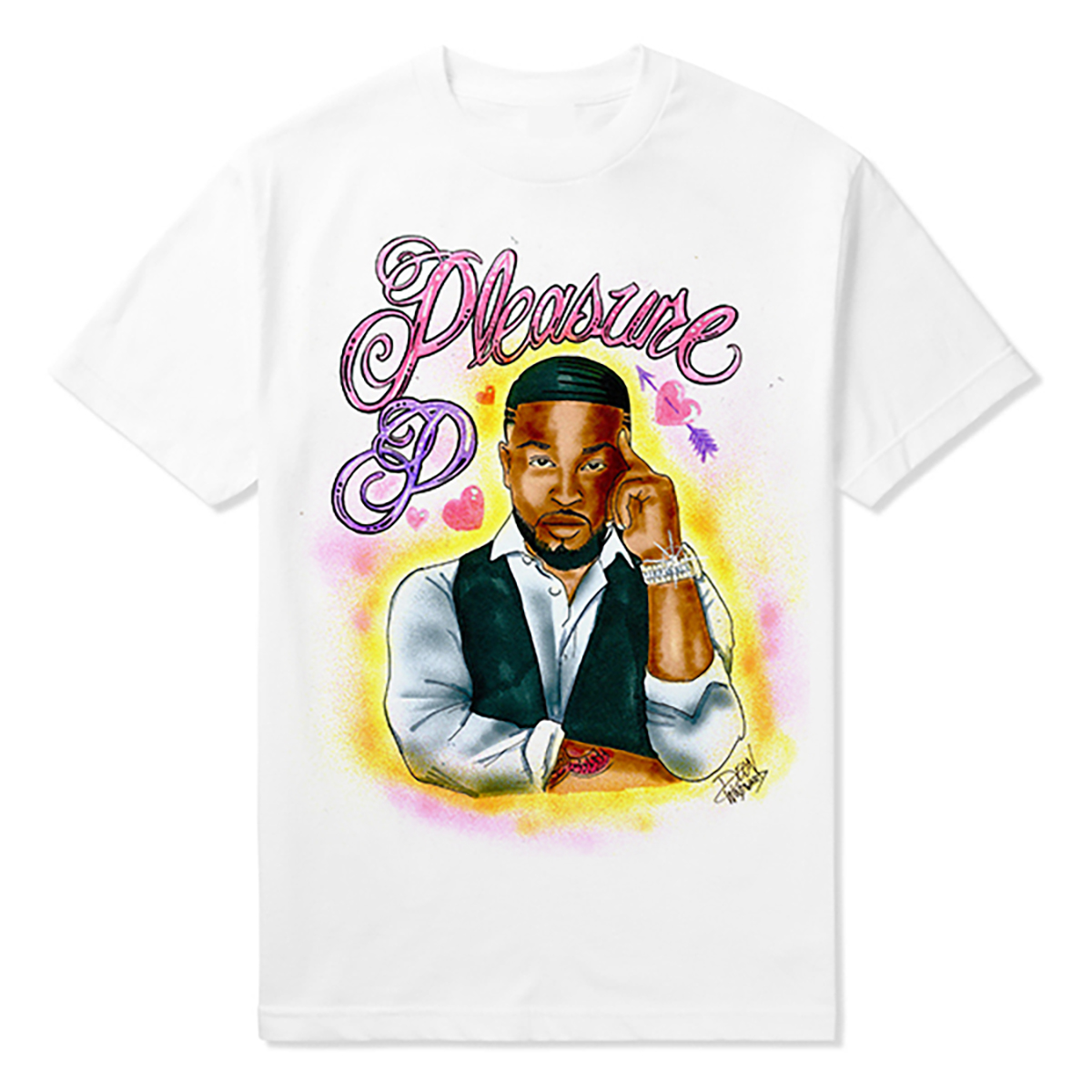 Pleasure Airbrushed Tee