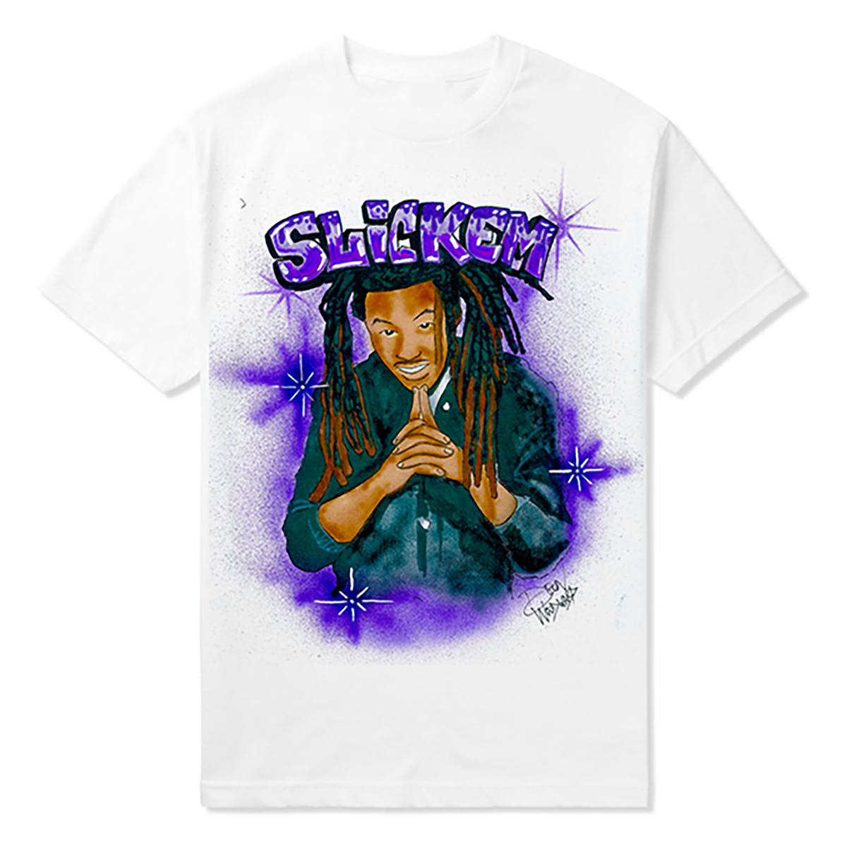 Slickem Airbrushed Tee