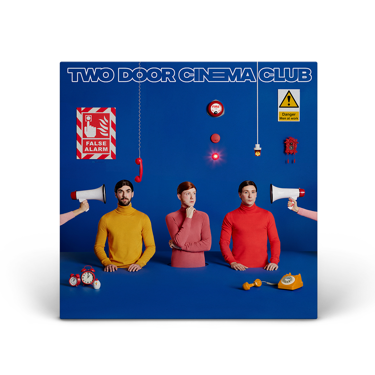 "Two Door Cinema Club - False Alarm 12"" x 12"" Print"